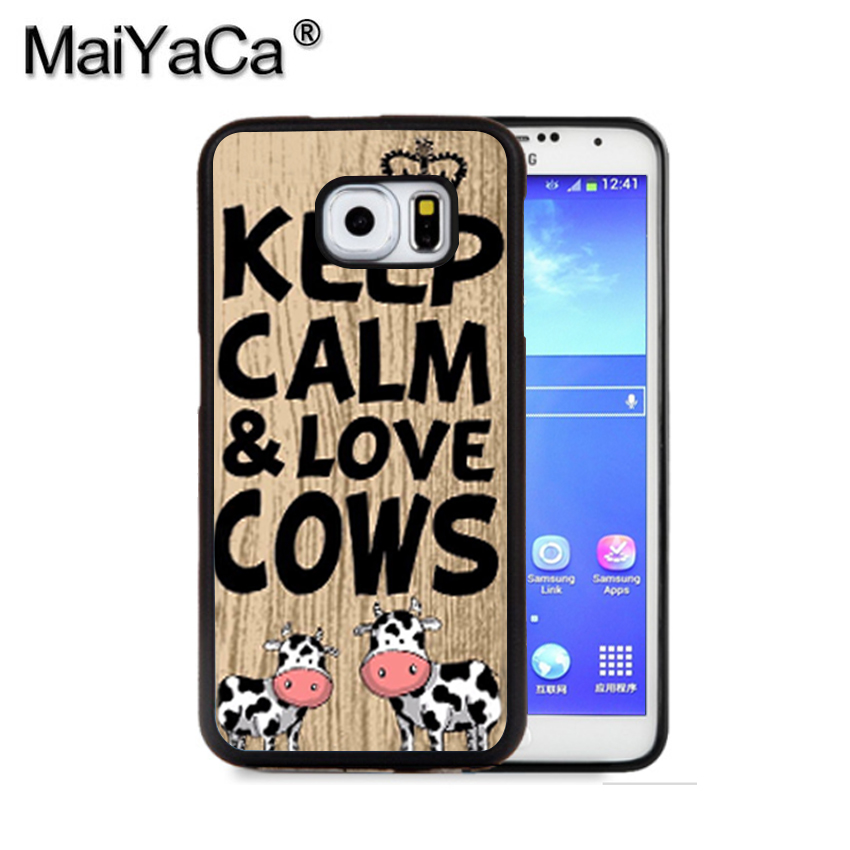 MaiYaCa Keep calm & play squash ball racket quote Phone Case For Samsung S9 S8 Plus S7 S6 Edge Plus Note 8 7 5 S5 S4 Cases