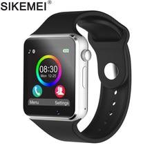 caf7af15c0437 SIKEMEI Bluetooth Смарт Умные Часы SmartWatch телефон с Шагомер Сенсорный  экран Камера Поддержка TF sim-
