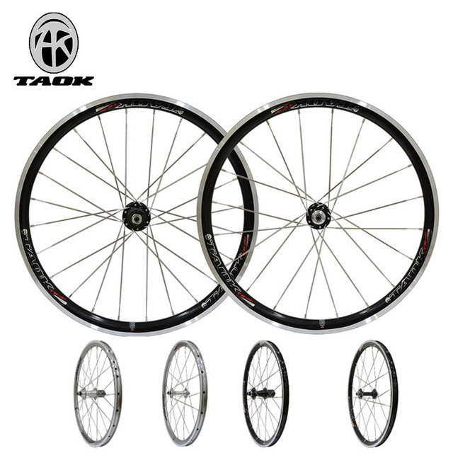 20 inch wheel set Mountain bike folding bicycle wheel V brake 451 bike wheel