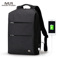MarkRyden New Arrivals Men Backpack For 15 6inches Laptop Backpack Large Capacity Casual Style Bag Water