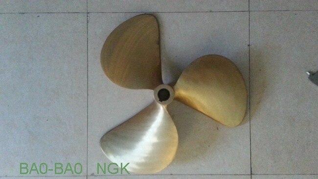 Sailing yacht propellers propeller ZF_FPS_13RH.3869M_EAR051KCA all copper propeller