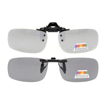 6e3a090f65 Jq1 eyekepper flip-up clip Gafas de sol polarizadas 53x33mm 2-pack metal  Gafas
