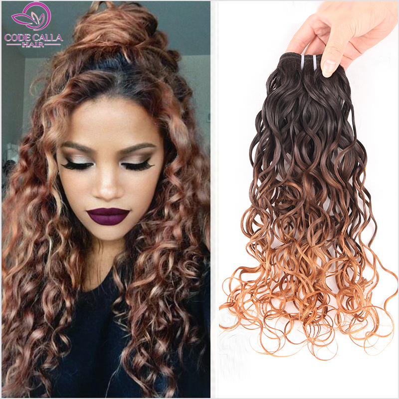 6a ombre brazilian human wave hair 3pcs 1b43027 blonde ombre 6a ombre brazilian human wave hair 3pcs 1b43027 blonde ombre water wave hair brazilian beach wave hair weave bundles lm001 in hair weaves from hair urmus Images