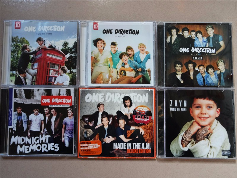 One Direction 6CD Made In The A.M (NEW CD) one direction one direction made in the a m 2 lp
