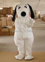 Карнавальный костюм белая собака талисман взрослый размер собака талисмана