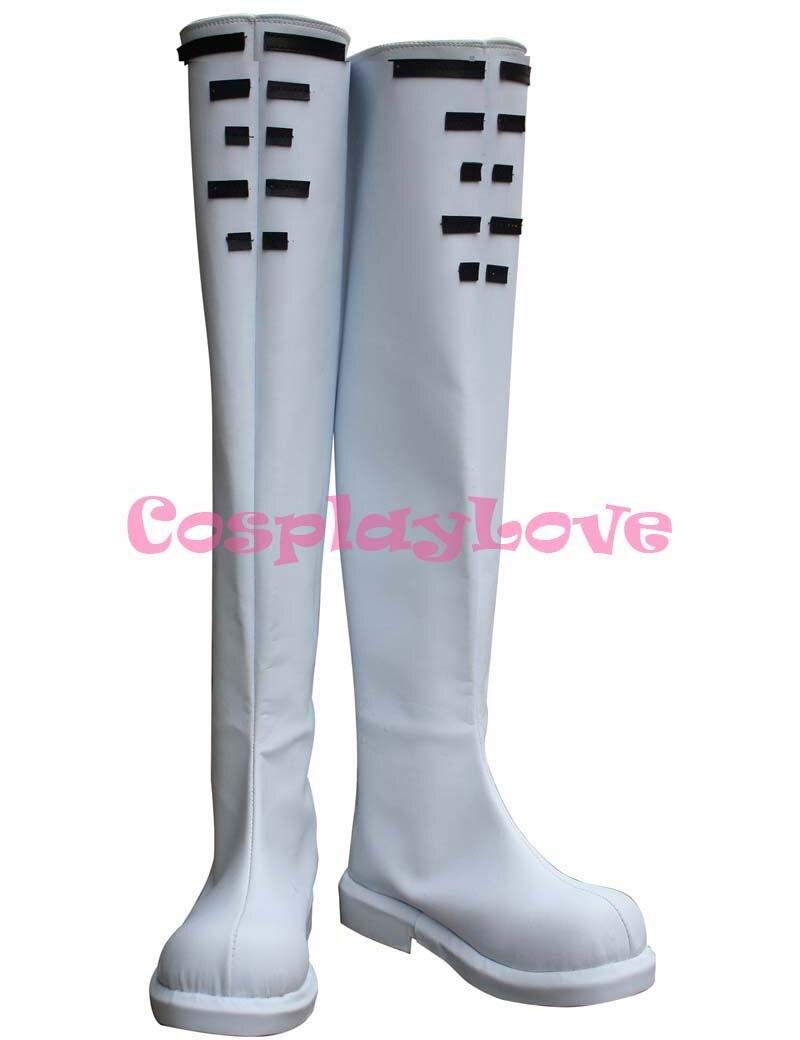 f2b463251 Custom Made Anime Japonês Hatsune Miku Vestido De Noiva Cosplay Sapatos  Botas Para o Dia Das Bruxas Natal