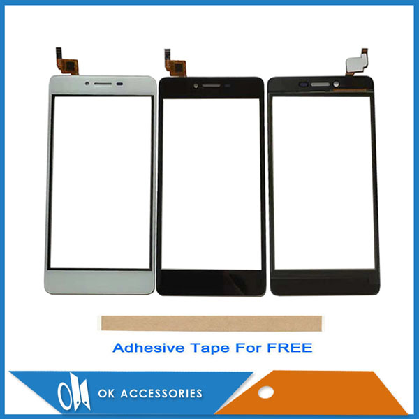 Gold White Black Color 5.0 Inch For Micromax Canvas Magnus Q421 Touch Glass Touch Screen Sensor Panel Digitizer With Tape