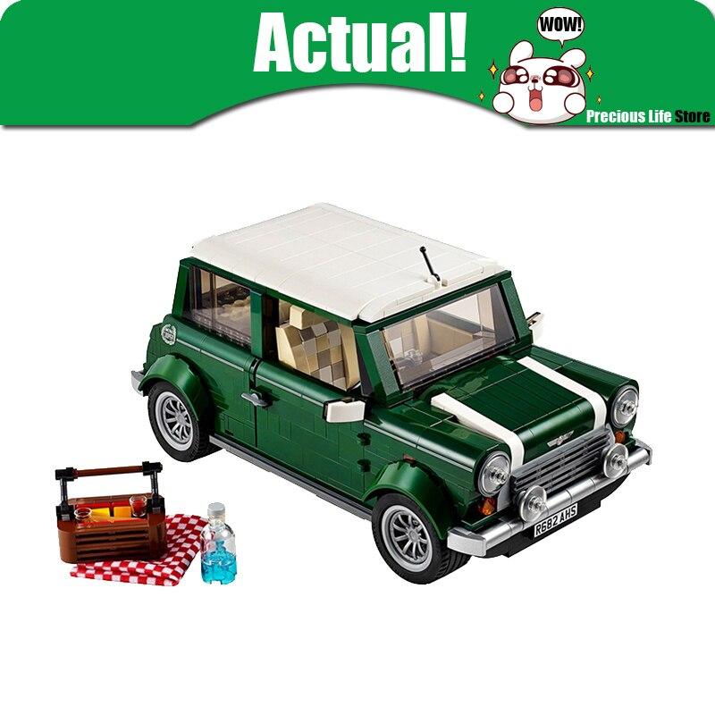 Yile technic creator MINI 002 T1 Classico Cooper Modello di Città Blocchi di Costruzione Mattoni Giocattoli per i bambini Compatibile legoingly 10242