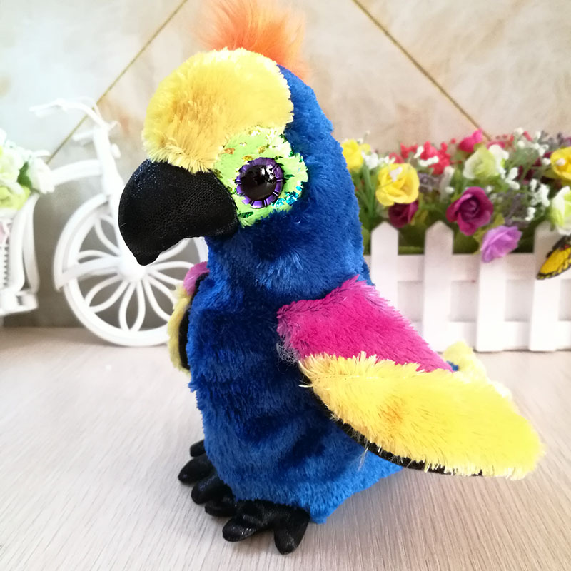 15cm Wynnie Parrot Bird Ty Beanie Babies Big Eyes Plush Toys Stuffed Animals Children Toy Top Watermelons