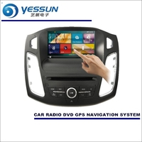 For Ford Focus 2012~2016 Car Radio CD DVD Player Amplifier HD TV Screen GPS Navigation Audio Video System