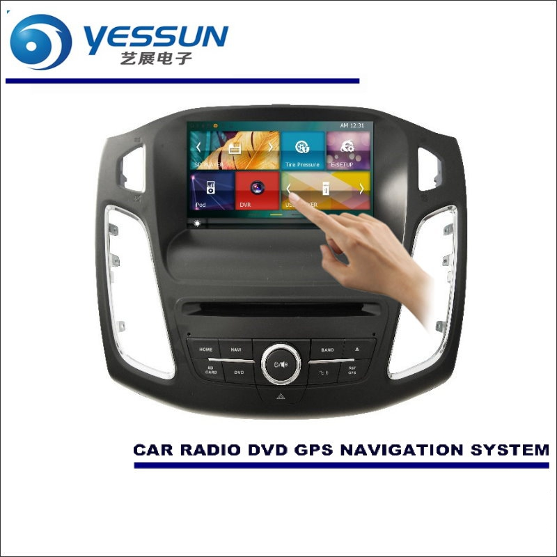 YESSUN For Ford For Focus 2012~2016 Car Radio CD DVD Player Amplifier HD TV Screen GPS Navigation Audio Video System