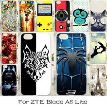 TAOYUNXI Soft Silicone Case For ZTE Blade A6 Lite Case Dirt-resistant DIY Painted Cover For ZTE Blade A6 Lite Cases Silicon