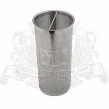 "3 ""Aroma filtro de canasta de acero inoxidable 304. Length 220mm"