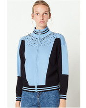 France style womens elegant diamonds knitting jackets coat Chic 2018 autumn winter sweater cardigans G009