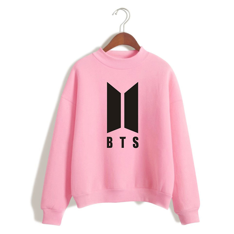 Kpop BTS Hoodies For Women Men Bangtan Boys Letter Printed Fans Supportive BTS Album Hoodie Moletom Drop Shipping