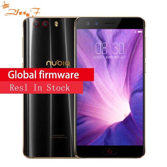 Nubia Z17S Z17 S Octa base téléphone portable 5.73 ''Plein Écran Snapdragon835 Double caméra arrière 23.0MP + 12.0MP