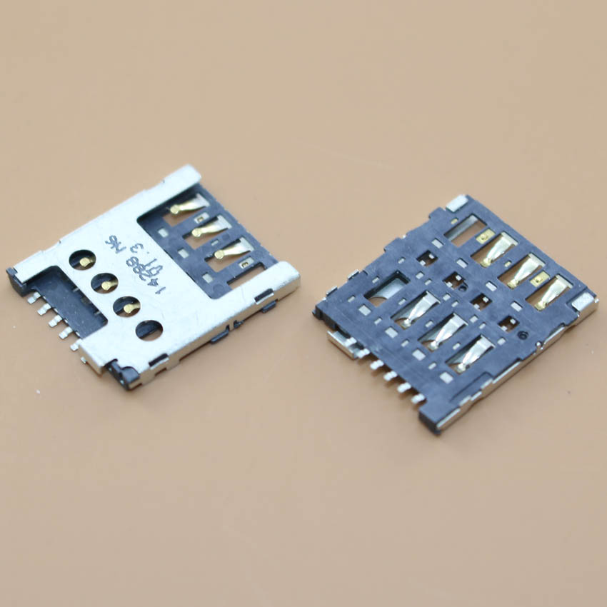 YuXi Brand New,sim Card Holder Adapters Socket Slot Connector For Nokia X XL Lumia 630 638 636 Rm1010 1027  635  980 635 530