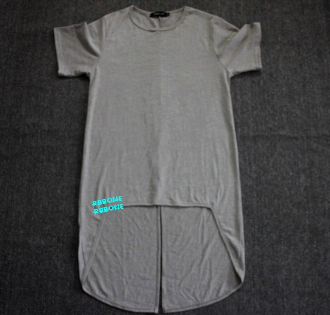 Tees Long Back basic T shirt Oversize Extend T shirt tee Side Zip Extended  Length T Shirts New Layered hip hop swag long shirt-in T-Shirts from Men s  ... 48dcbf4f66e