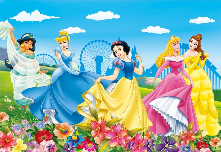 ... Beautiful Snow White And The Seven Dwarfs Design 3d Wallpaper Kids Room  3d Wall Paper Large ... Part 68