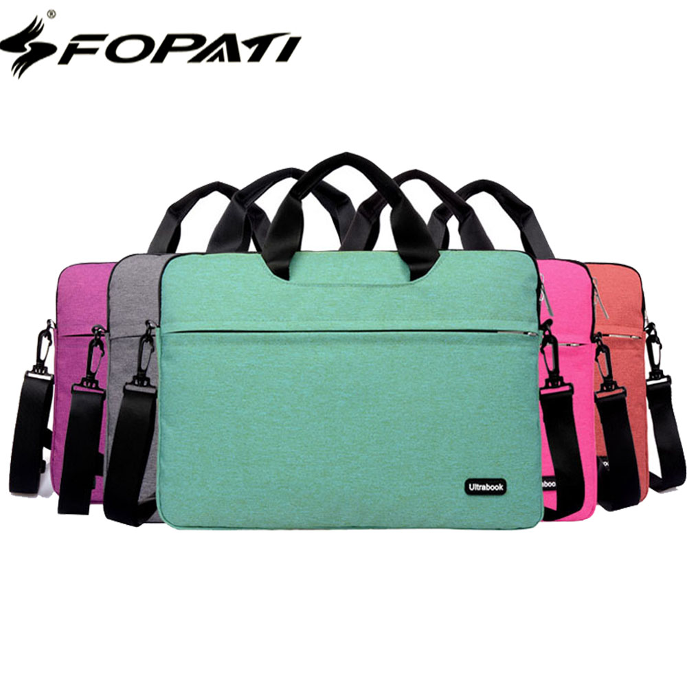 2017 Brand Laptop Bag 15.6 14 13 12 11.6 inch Notebook Shoulder Messenger Bag Men Women Handbag Sleeve for Macbook Air Pro Case ...