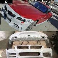 E89 Z4 Комплект кузова FRP Неокрашенный передний бампер задний бампер для BMW E89 Z4 Роуэн стиле 09 14