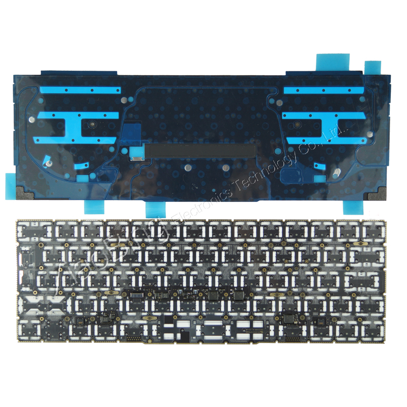 "New for MacBook Pro 13.3"" Retina A1706 Russian Russia RU Keyboard Backlight Backlit 2016 2017 MLH12 MPXV2 EMC3071 EMC3163-in Replacement Keyboards from Computer & Office    2"