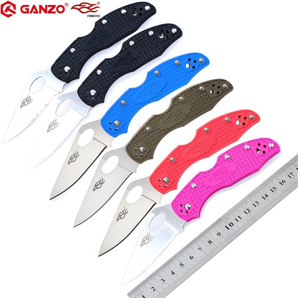 58-60HRC Ganzo Firebird F759M 440C lame couteau pliant en plein air survie camping outil edc couteau de poche tactique edc outil extérieur