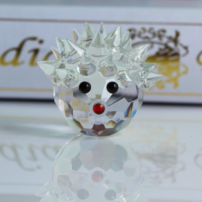 XINTOU Crystal Glass Animals Ոզնին Նկարներ - Տնային դեկոր - Լուսանկար 2