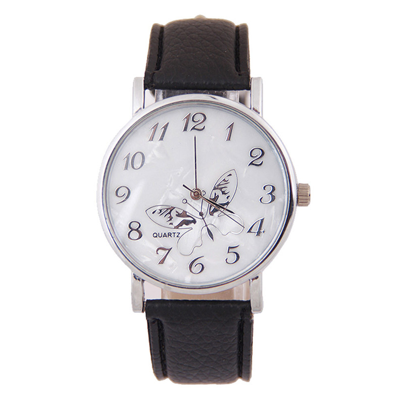 Natasha's Exquisite hour Store Trend Embossed Band Butterfly Ladies Watches
