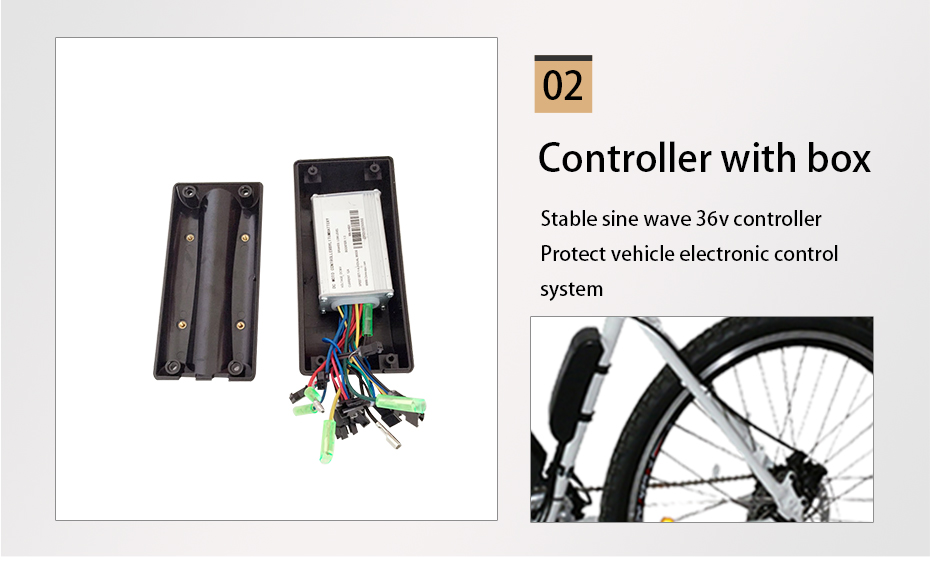 Cheap DIY 2018 New Brushless Electric Bicycle Kits NO Battery 36V 250W 350W 500W Motor Controller Electric Etc Bicycle Conversion Kit 5