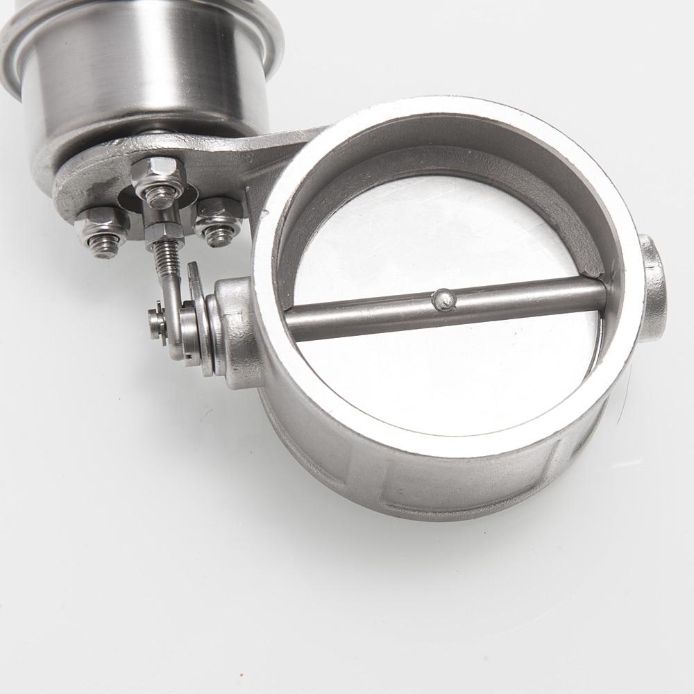 Клапан управления выхлопом набор повышающий привод закрытый стиль 63 мм давление трубы: около 1 бар для Ford Focus TK-CUT63-CL-BOOST