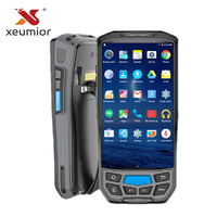 5 Handheld Rugged Android PDA Data Collector POS Terminal with Thermal Printer/Barcode Scanner/UHF NFC RFID Reader/Fingerprint