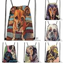 Custom Ruby Toothy Drawstring Backpack Bag Cute Daypack Kids Satchel (Black Back) 31x40cm#180531-03-35