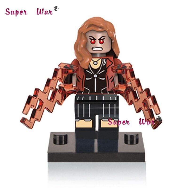 20pcs star wars superhero marvel Scarlet Witch building blocks action figure bricks model educational diy baby toys