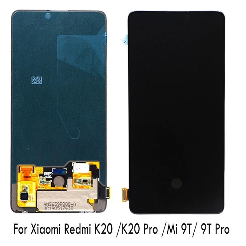 Original pour Xiao mi rouge mi K20 Pro LCD mi 9 T Pro écran tactile numériseur assemblée rouge mi K20 LCD mi 9 T écran LCD