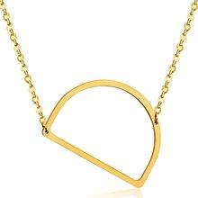 Модные Ожерелья Для Женщин С D Формы Кулон Золотые Буквы Ожерелье, Оптовые Ювелирные Изделия, бесплатный Сеть