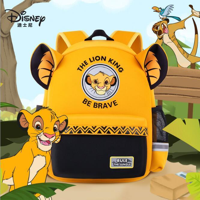 Подлинный Дисней фильм король лев Simba мультфильм сумка плюшевая кукла рюкзак дети девочки детские игрушки для мальчиков Рождественский подарок на день рождения