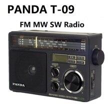 PANDA T 09 Radio FM MW SW U disque/TF carte lecteur MP3 FM/ondes moyennes ondes courtes trois bandes Radio