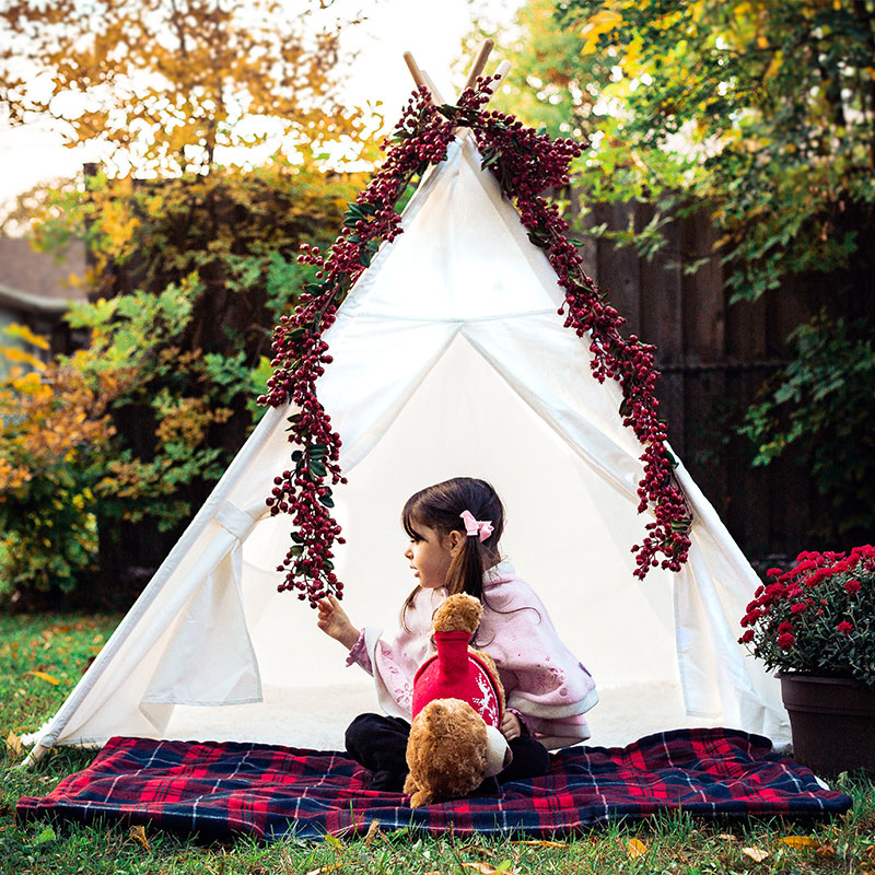 Kids Play Tent Cotton Canvas Indian Teepee Children Play House Baby Room Decoration Tipi Toys For Children Birthday GiftKids Play Tent Cotton Canvas Indian Teepee Children Play House Baby Room Decoration Tipi Toys For Children Birthday Gift