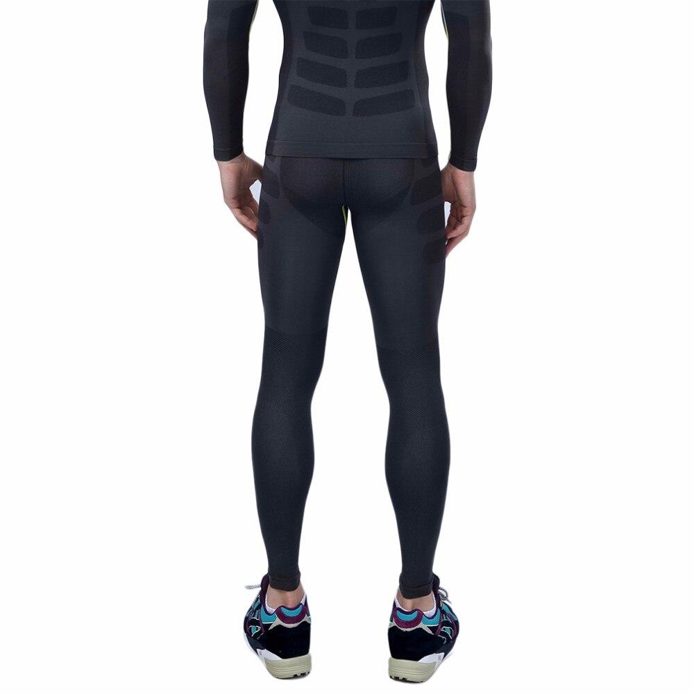 544bea1e4 ୧ʕ ʔ୨مريحة الرجال رياضة الجري ضيق طماق ضئيلة السراويل الطويلة تحت ...
