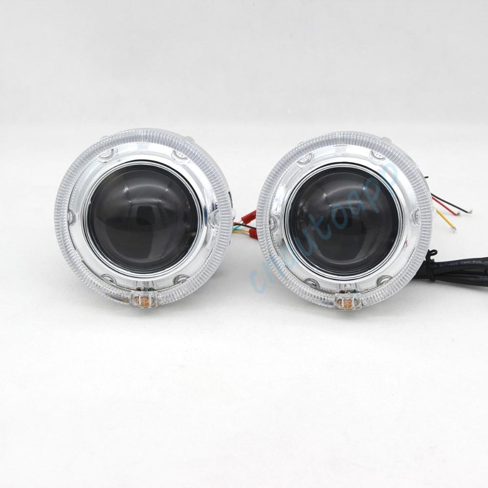 Bluetooth Wirless RGB Angel Eyes Cover Car LED LED - Ավտոմեքենայի լույսեր - Լուսանկար 4