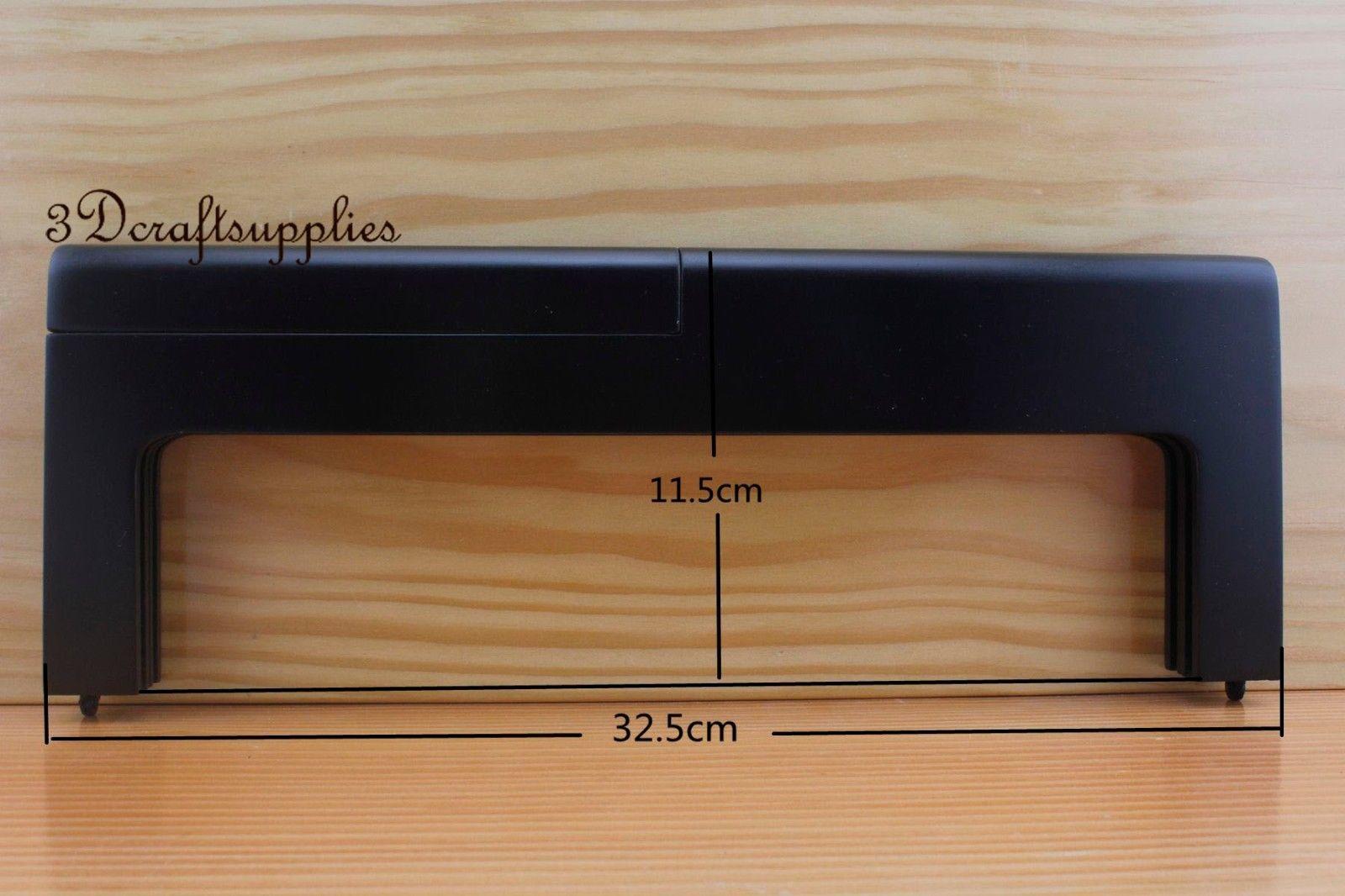12.5 inch wooden purse frame Black color Z1
