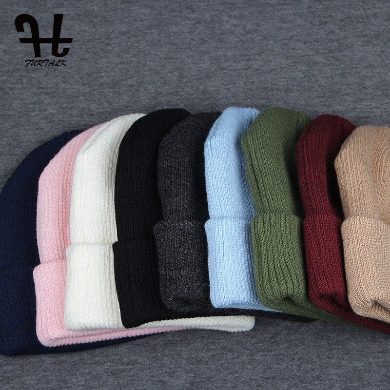 Aliexpress Buy Furtalk Spring Autumn Womens Hat Wool Knit