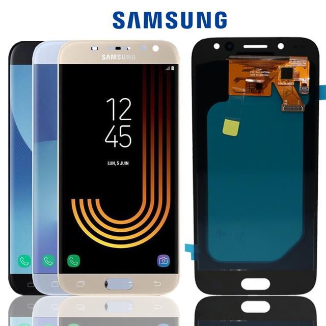 SUPER AMOLED 5,2 ''LCD Pantalla de repuesto para SAMSUNG Galaxy J5 PRO 2017 J530 J530F LCD pantalla táctil digitalizador montaje