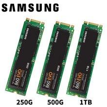 سامسونج 860 EVO SSD 1 تيرا بايت 500 جيجابايت 250 جيجابايت M.2 SATA 6 جيجابايت/ثانية أقراص بحالة صلبة HDD M2 2280 MLC HDD لأجهزة الكمبيوتر المحمول كمبيوتر مكتبي
