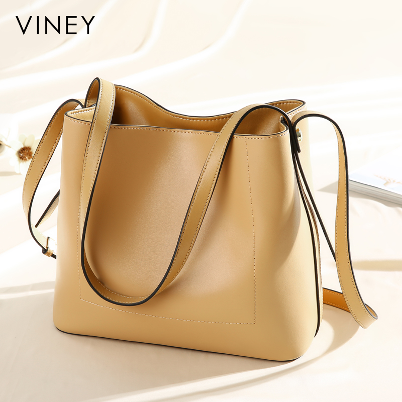 2019 New Genuine Leather Baggage Hand held Fairy Baggage Korean Version Baitao Slanting Fashion Single Shoulder