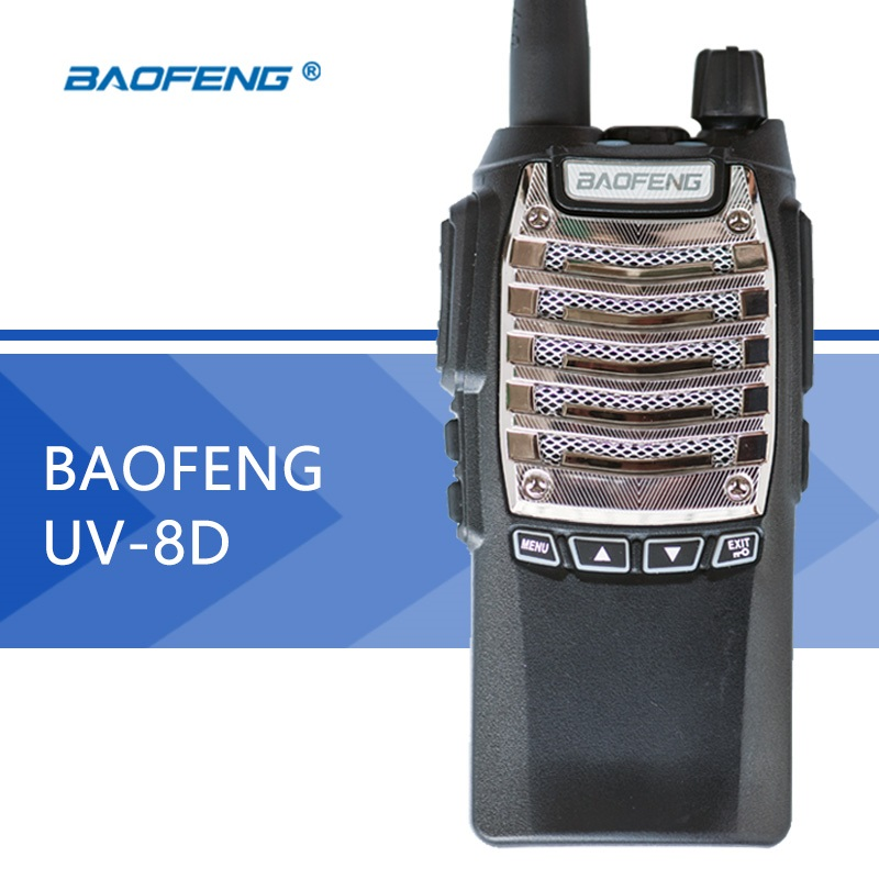 BaoFeng walkie talkie UV-8D Portable PTT radio UV8D CB radio Transceiver Standared Battery 2800mAh