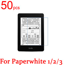 50pcs Ultra Clear/Matte/Nano anti Explosion LCD Screen Protector Film Cover For Amazon Kindle Paperwhite 1/2/3 Protective Film