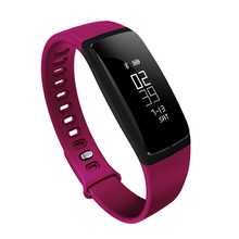 Original Smart Wrist Watch V06 Blood Pressure Heart Rate Band Bracelet Waterproof Wristband Bluetooth Smartband For iOS Android