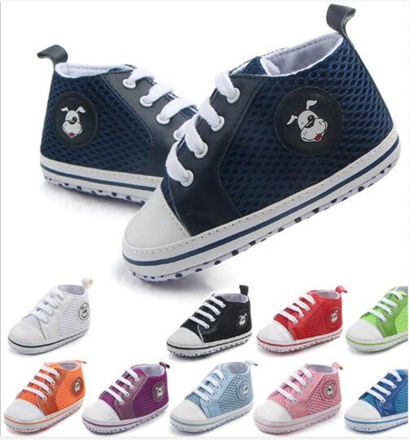 380dc331ff Zapatos de malla para bebés de moda Zapatos deportivos para recién nacidos